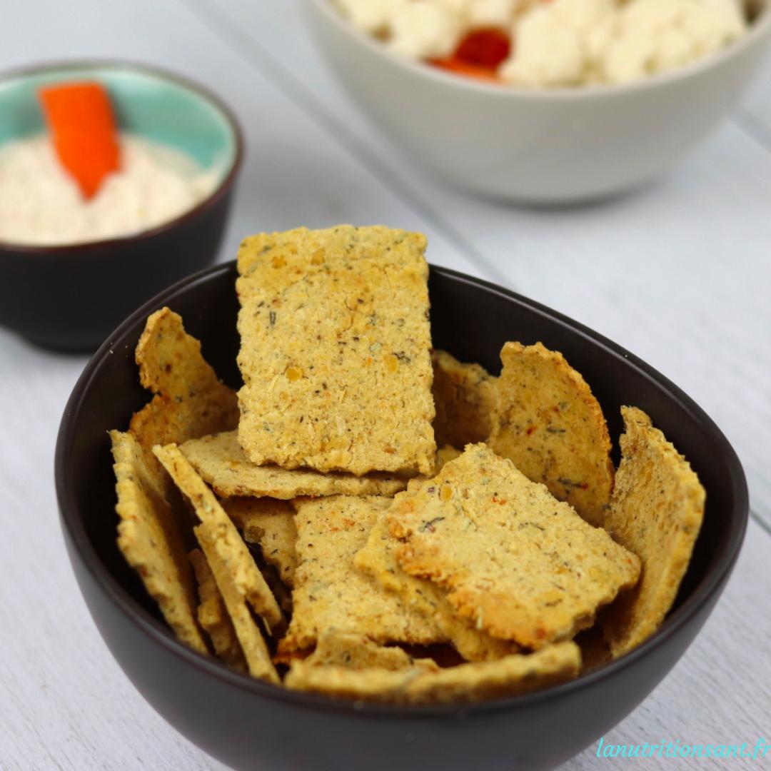 crackers lentille corail