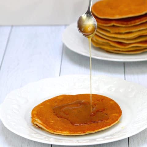 Pancakes à la farine de patate douce