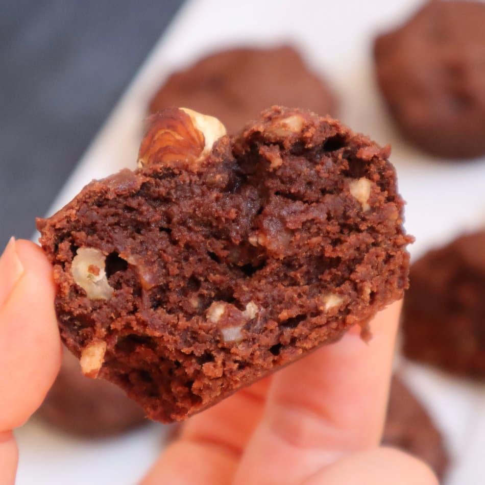 muffin au chocolat hyperprotéiné